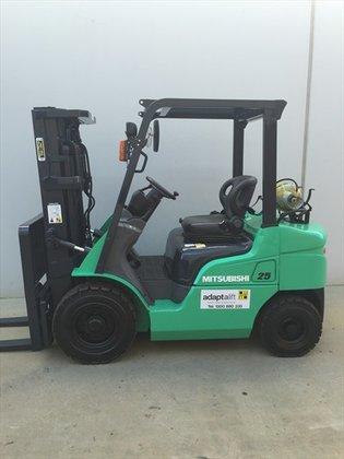 MITSUBISHI FG25ZN Counterbalance Forklift 1,801