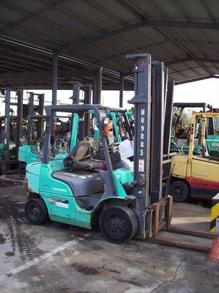 2006 MITSUBISHI FG25ZN Counterbalance Forklift
