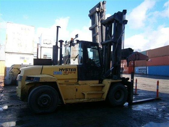 2007 HYSTER H16.00XM-6 Counterbalance Forklift