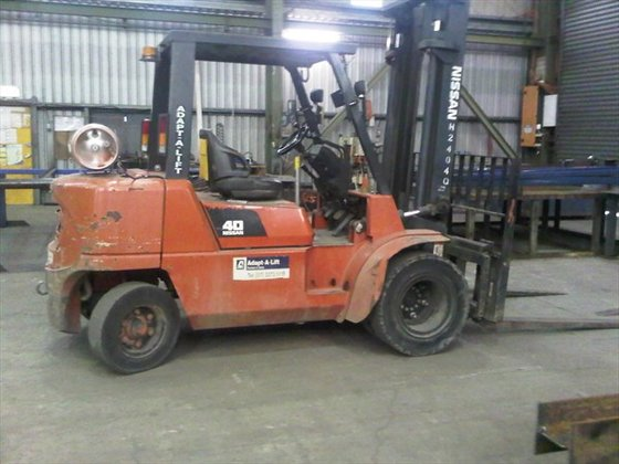 2008 NISSAN FO4B40UT Counterbalance Forklift