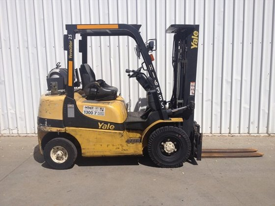 2006 YALE GLP25RK Counterbalance Forklift