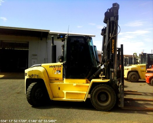 2008 HYSTER H12.00XM-6 Counterbalance Forklift