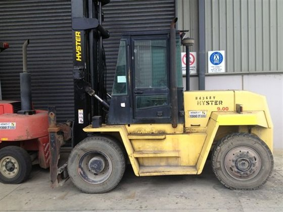 HYSTER H9.00XL Counterbalance Forklift 8,000
