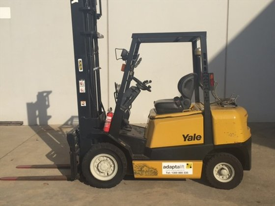 YALE GLP25RH Counterbalance Forklift 1,801