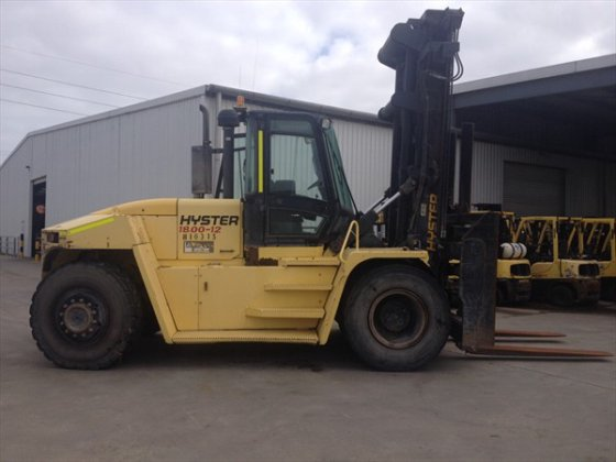2008 HYSTER H18.00XM-12 Counterbalance Forklift