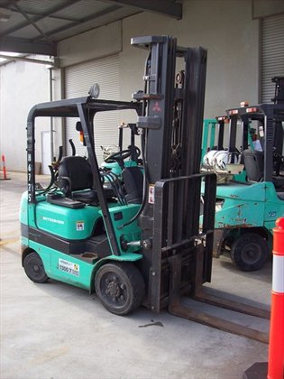 2006 MITSUBISHI FGC20K Counterbalance Forklift