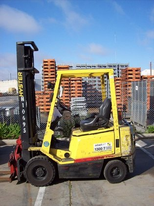 2002 HYSTER H1.75XBX Counterbalance Forklift