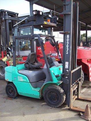 2006 MITSUBISHI FGE25ZN Counterbalance Forklift