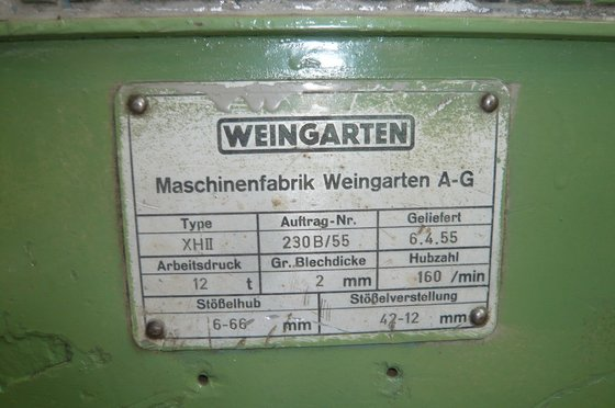 WEINGARTEN XH II in Metzingen,
