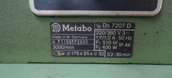 METABO DS 7207 D in