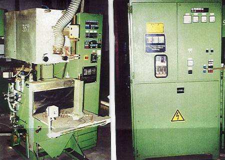 1990 FDF FRITZ DÜSSELDORF Induktions-Lötanlage