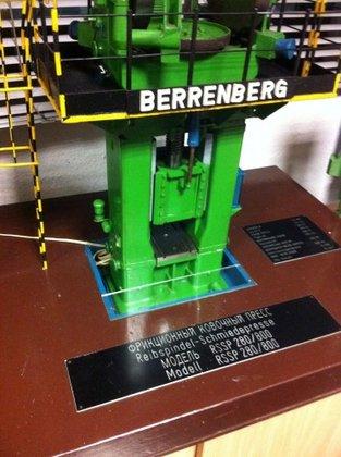 Modell einer BERRENBERG RSSP 280/800