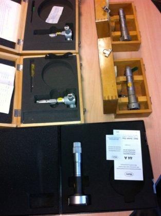 Drei-Punkt-Innenmikrometer-Set 40 - 90 mm