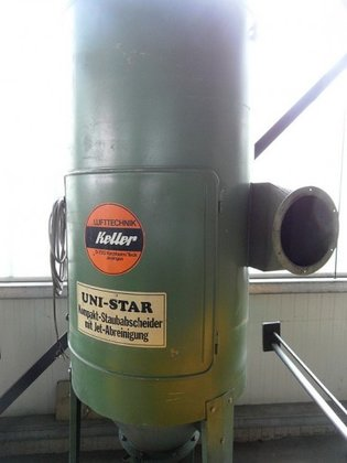 1985 KELLER Uni-Star Staub-Mattenfilter in