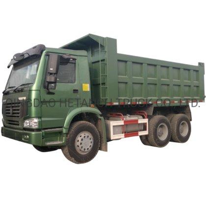 10 camión volquete de la explotación minera de Sinotruk