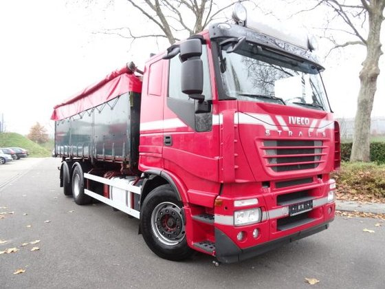 2007 Iveco AS260S45 6x2-4 3