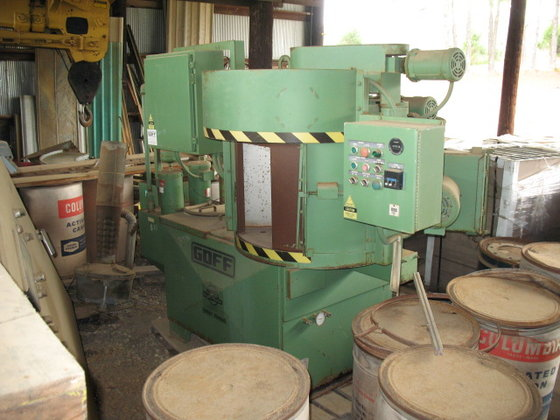 GOFF HYDROPULSE PARTS WASHER in
