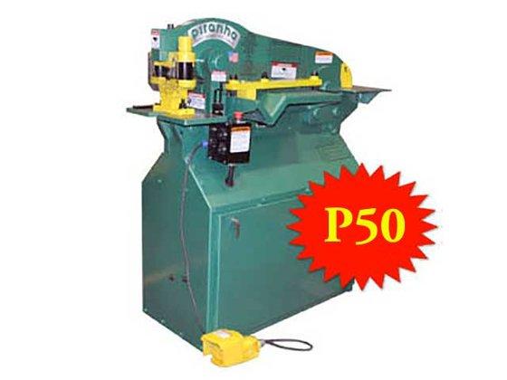 PIRANHA P50 HYDRAULIC IRONWORKER in