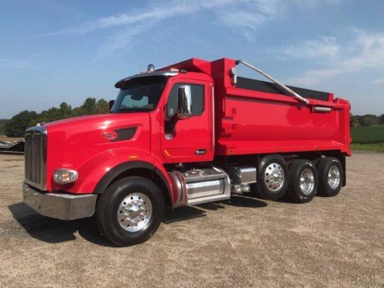 Peterbilt 567 Dump truck