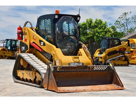 Caterpillar 279C Compact Track Loader