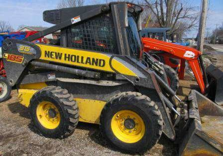 New Holland L185 Skid Steer Loader