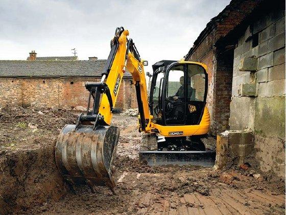 JCB 8040 ZTS Excavators in