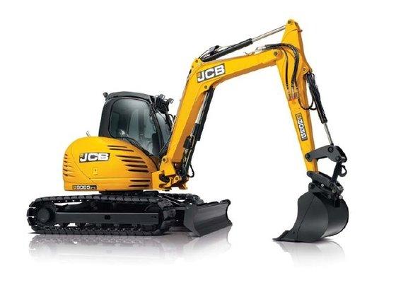JCB 8085ZTS Excavators in Little