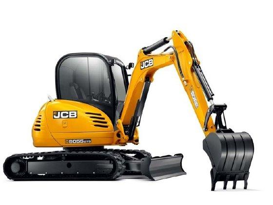 JCB 8055ZTS Excavators in Little