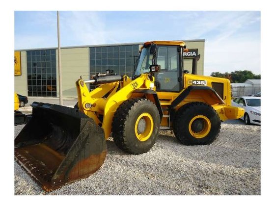 JCB 436ZX Loaders in Pooler,