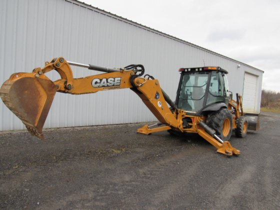 2012 Case 580 Super N in Amsterdam, NY, USA