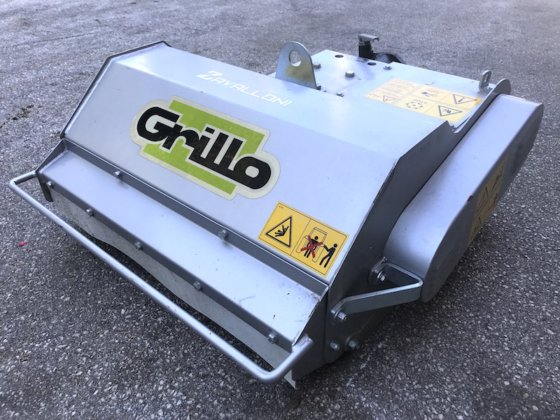New-built flail mower for GRILLO rotary cultivator in Avellino