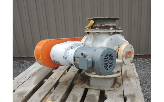 AZO VALVE, ROTARY, AIR LOCK,
