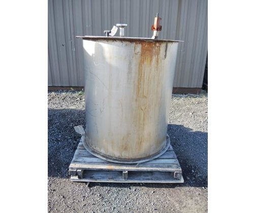 TANK, 175 USG, STAINLESS STEEL,