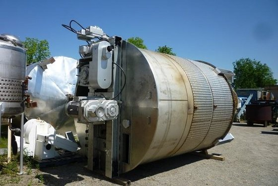 TANK-JACKETED, 7200 USG, 316L STAINLESS
