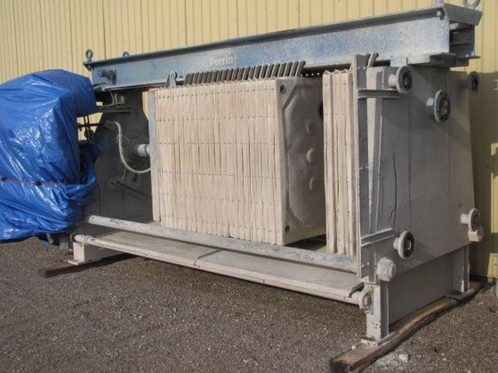 FILTER PRESS, RECESSED PLATE, 1200
