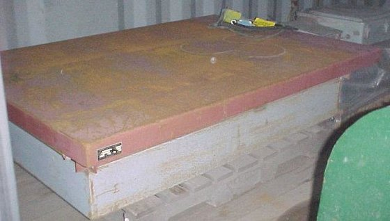 """OLYMPIC LIFT TABLE, 48"""" X"""