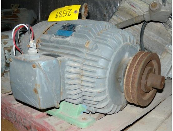 WESTINGHOUSE MOTOR, ELECTRIC, 15 H.P.,