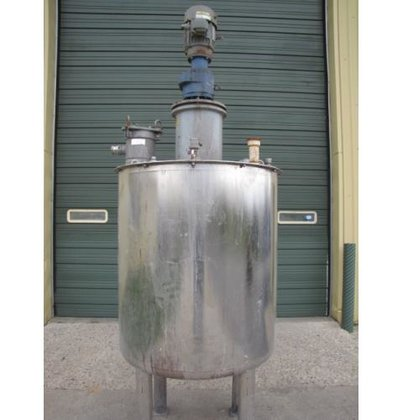 TANK, 295 USG, STAINLESS STEEL,