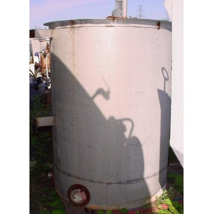 TANK, 330 USG, STAINLESS STEEL,