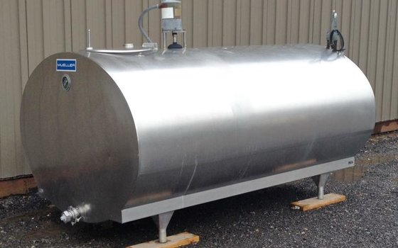 TANK, 600 USG, STAINLESS STEEL,