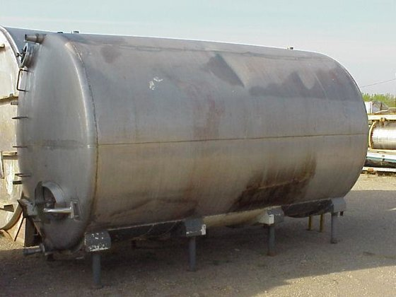 TANK, 4800 USG, STAINLESS STEEL,