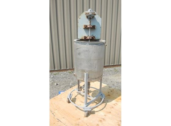TANK-JACKETED, 8.5 USG, STAINLESS STEEL,