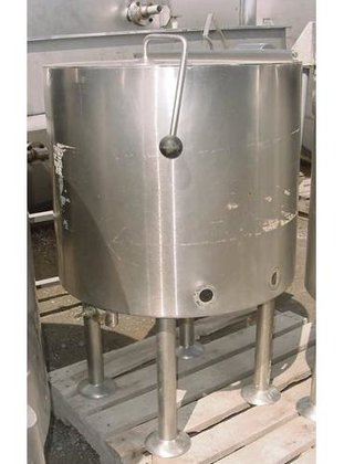 TANK-JACKETED, 30 USG, STAINLESS STEEL,