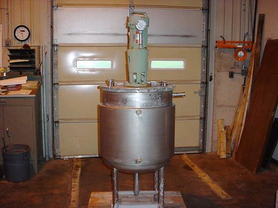 TANK-JACKETED, 53 USG, STAINLESS STEEL,