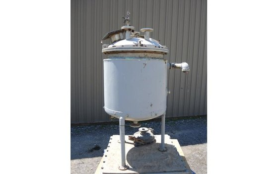 TANK-JACKETED, 90 USG, STAINLESS STEEL,