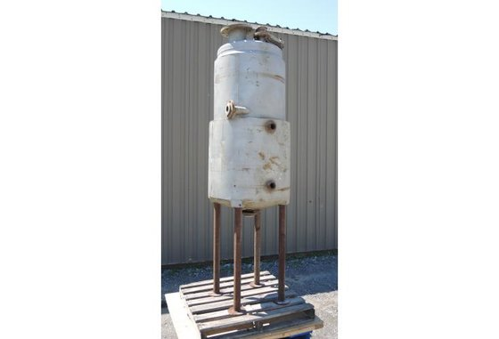 TANK-JACKETED 95 USG STAINLESS STEEL,