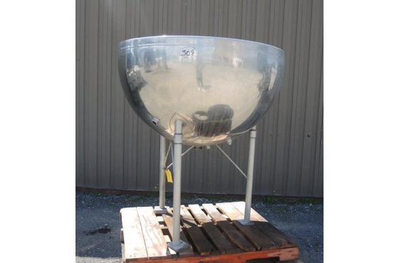 TANK-JACKETED, 125 USG, STAINLESS STEEL,