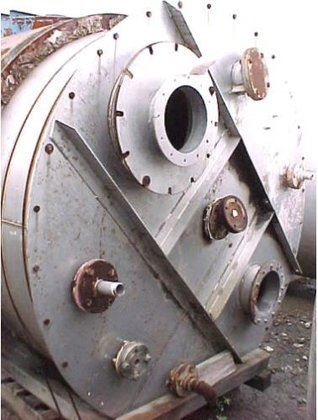 TANK-JACKETED, 1020 USG, STAINLESS STEEL,