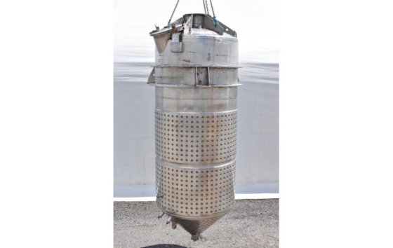 TANK-JACKETED, 1200 USG, STAINLESS STEEL,