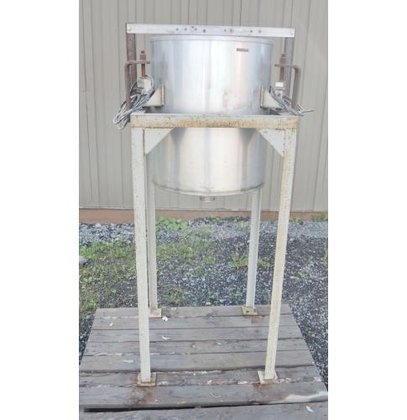 TANK, 23 USG, STAINLESS STEEL,